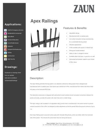 Apex Railing