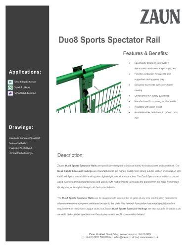 Duo8 Sports Spectator Rail