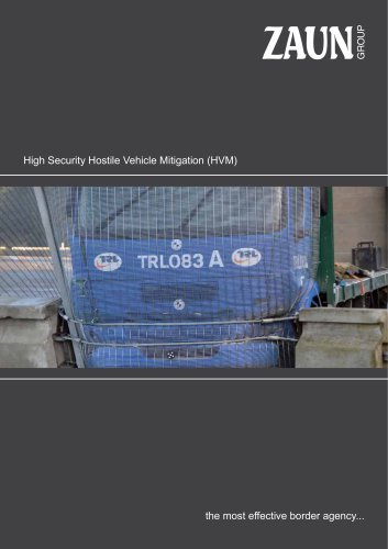 High Security Hostile Vehicle Mitigation