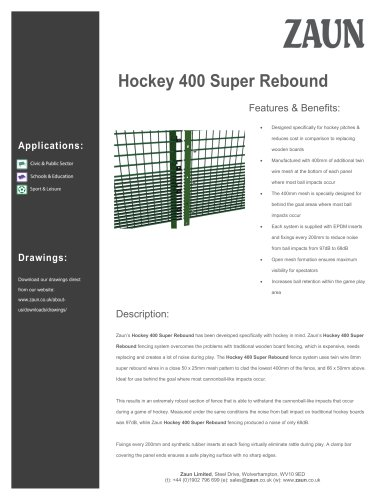 Hockey 400 Super Rebound