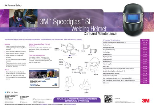 Speedglas™  SL