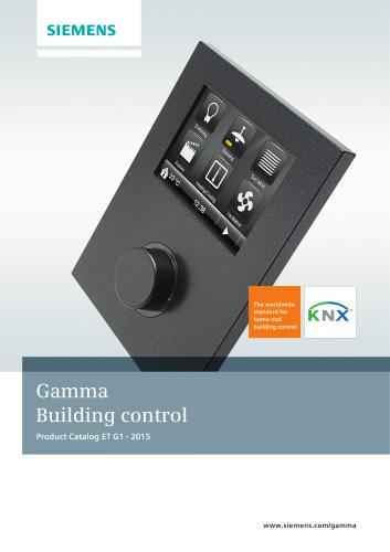 Gamma - Building control 2015