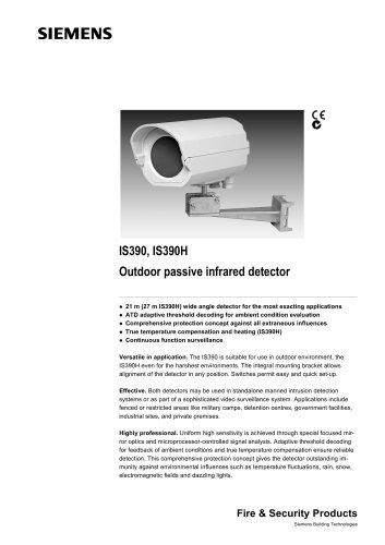 IS390.. - Outdoor PIR detector