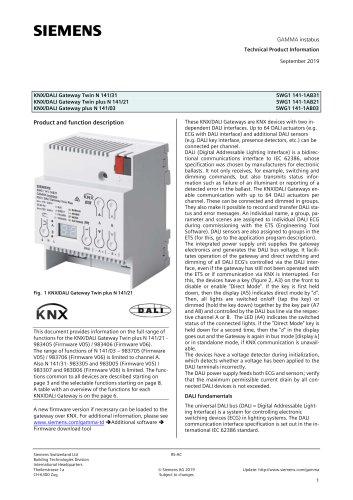 KNX/DALI Gateway Twin N 141/31