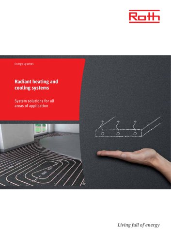 Radiant Heating And Cooling Systems Roth Werke Gmbh Okoenergie Und Sanitarsysteme Pdf Catalogs Documentation Brochures