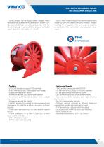 VAX-S Axial Smoke Exhaust Fans