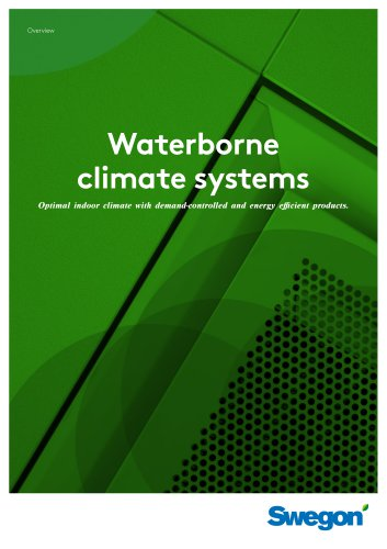 Waterborne climate systems