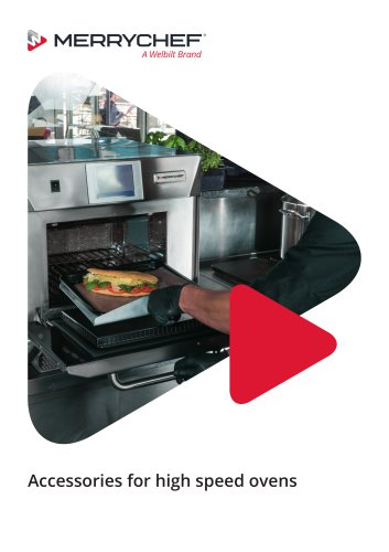 Accessories for high speed ovens
