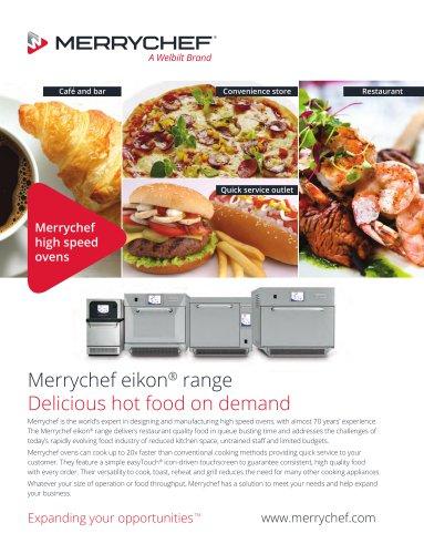 Merrychef eikon® range