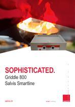Salvis Smartline Griddle 800