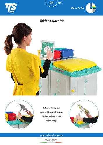 Tablet holder kit