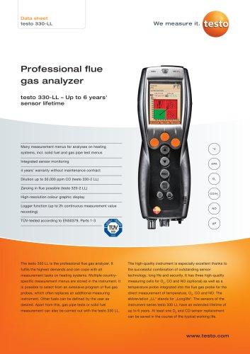 330-LL - TESTO - PDF Catalogs | Documentation | Brochures
