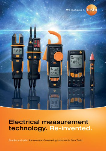 Electrical measurement technology