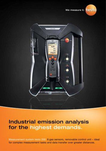 Measurement system testo 350