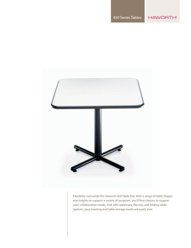 450 Series Tables