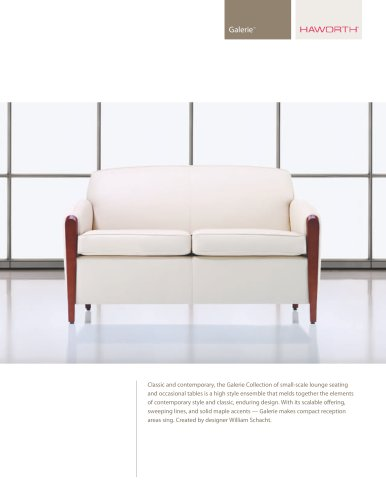 GALERIE LOUNGE SEATING