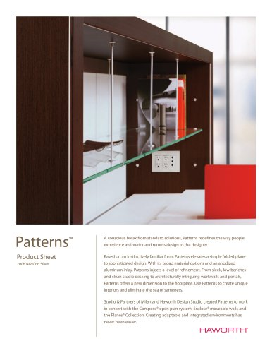 Patterns Product Sheet Final
