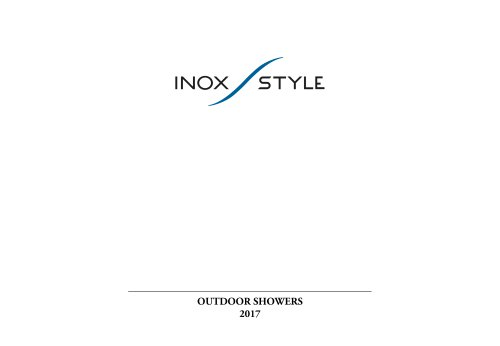 Nautical outdoor showers index 2017