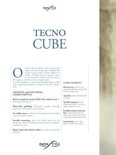 Tecno Cube Line Showers