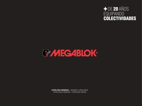 General Catalogue MEGABLOK