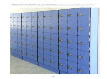 LOCKERS WITH BODY IN COMPACMEL PLUS AND HPL DOORS / - 5