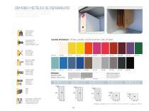 METAL CABINET WITH PVC ROLLING DOOR - 1