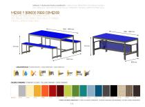 TABLES AND BENCHES FOR DINING ROOMS - 1