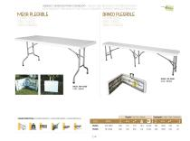 TABLES AND BENCHES FOR DINING ROOMS - 3