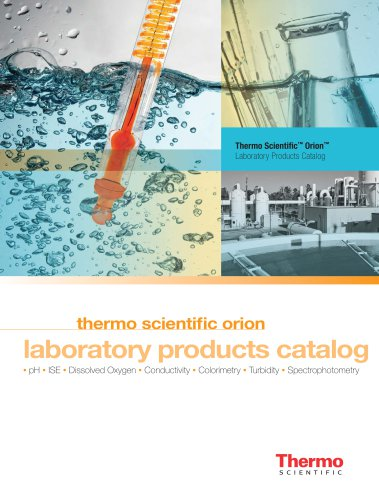 Orion Laboratory Products Catalog