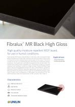Fibralux®  MR Black High Gloss - 1