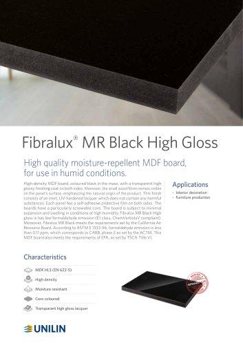 Fibralux®  MR Black High Gloss