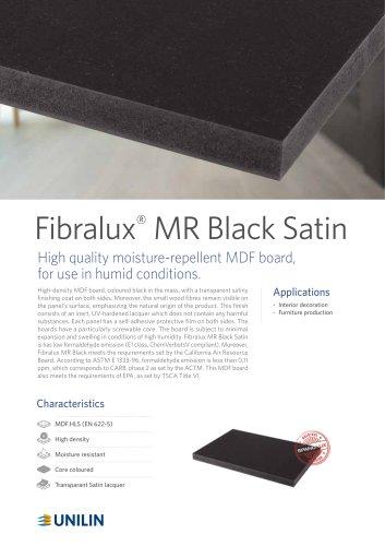 Fibralux®  MR Black Satin