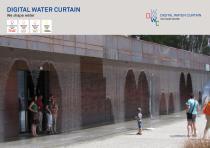 Digital Water Curtain brochure