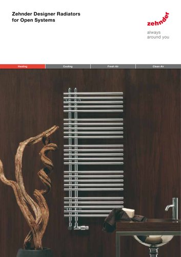 Zehnder Designer Radiators for Open Systems