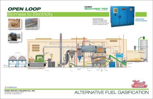CHP-CoGen Biomass Open Loop