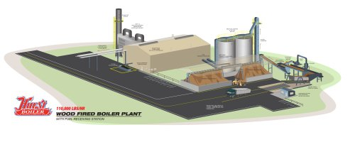 CHP-Wood Fired Plant 110000