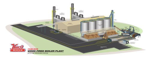 CHP-Wood Fired Plant 240