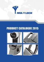 MUL-T-LOCK PRODUCT CATALOGUE 2015