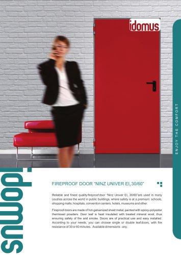 NINZ Fireproof doors