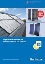 Buderus solar panels