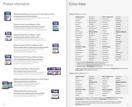 Weathershield Professional  Colour Guide - 11