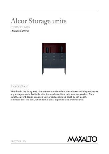 Alcor Storage units