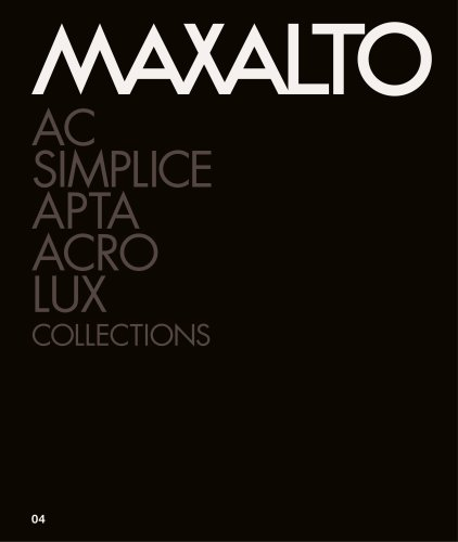 Maxalto_Collection