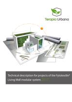 Technical description for projects of the Fytotextile® Living Wall modular system 2018
