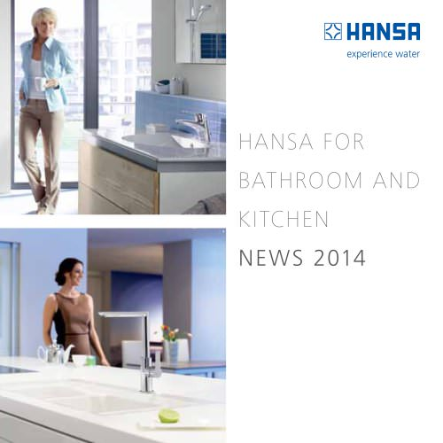 HANSA FOR BATHROOM AND KITCHEN NEWS 2014