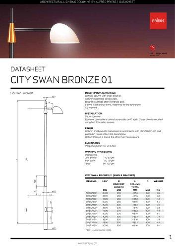 City Swan DATASHEET