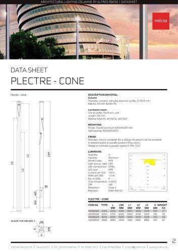 PLECTRE - CONE