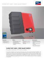 Sunny BOY 3600 / 5000 Smart Energy