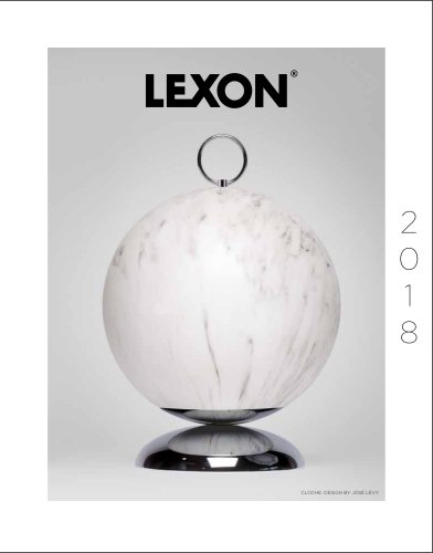 LEXON CATALOGUE 2018