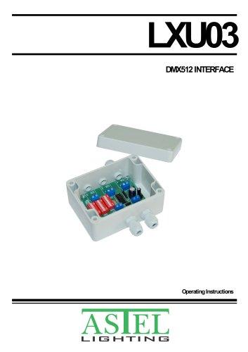 DMX512 Interface LXU03